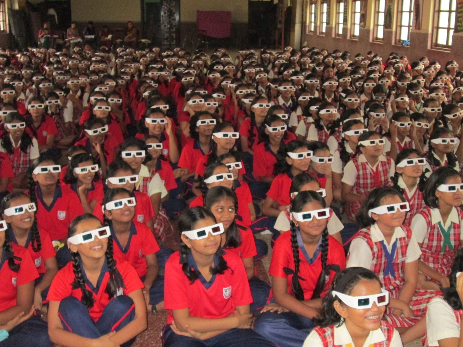 3D Learning Workshop at St. Theresa's School in Mumbai
