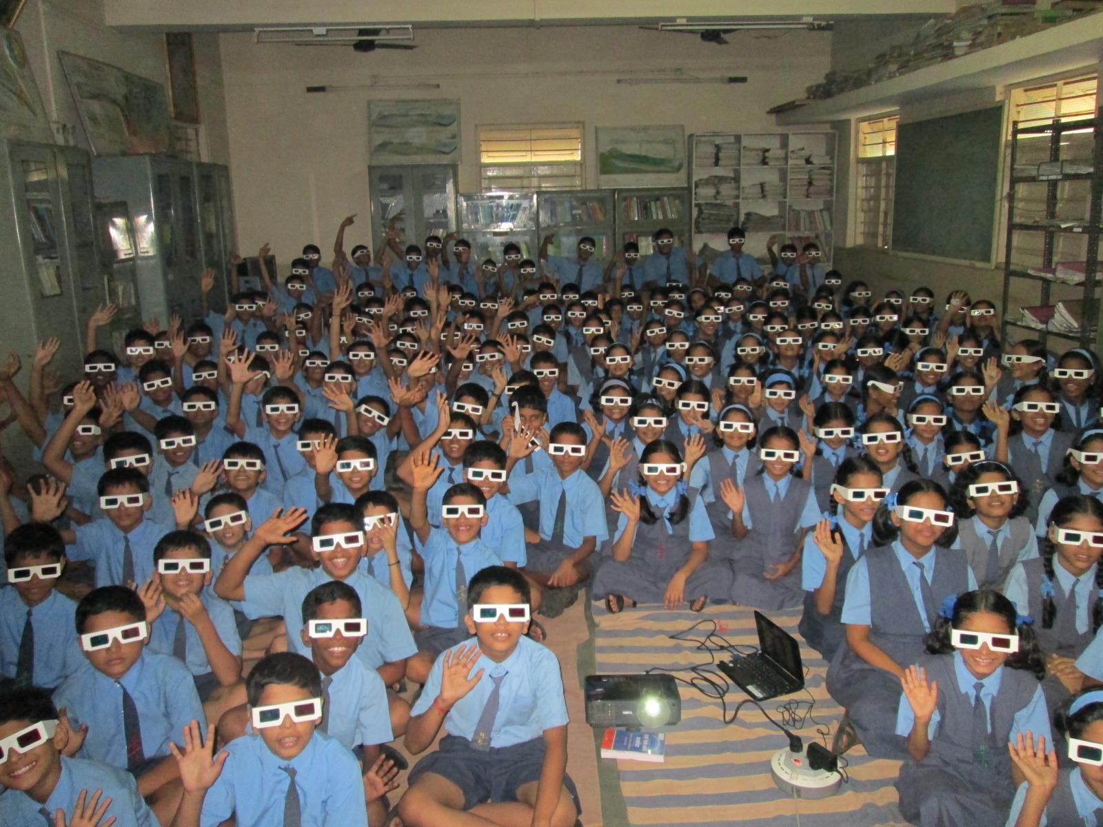 3D at New English School Kalwa