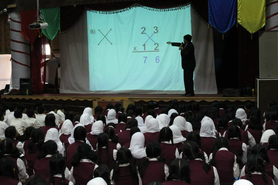 An Innovative method of multiplication...gets the answer fast!