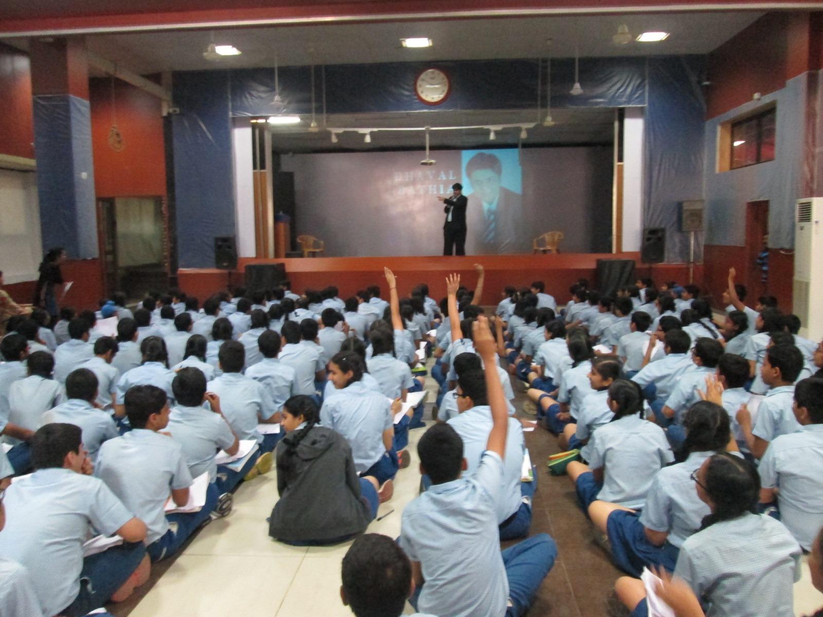 At Vissanji Academy, a premier school in Mumbai