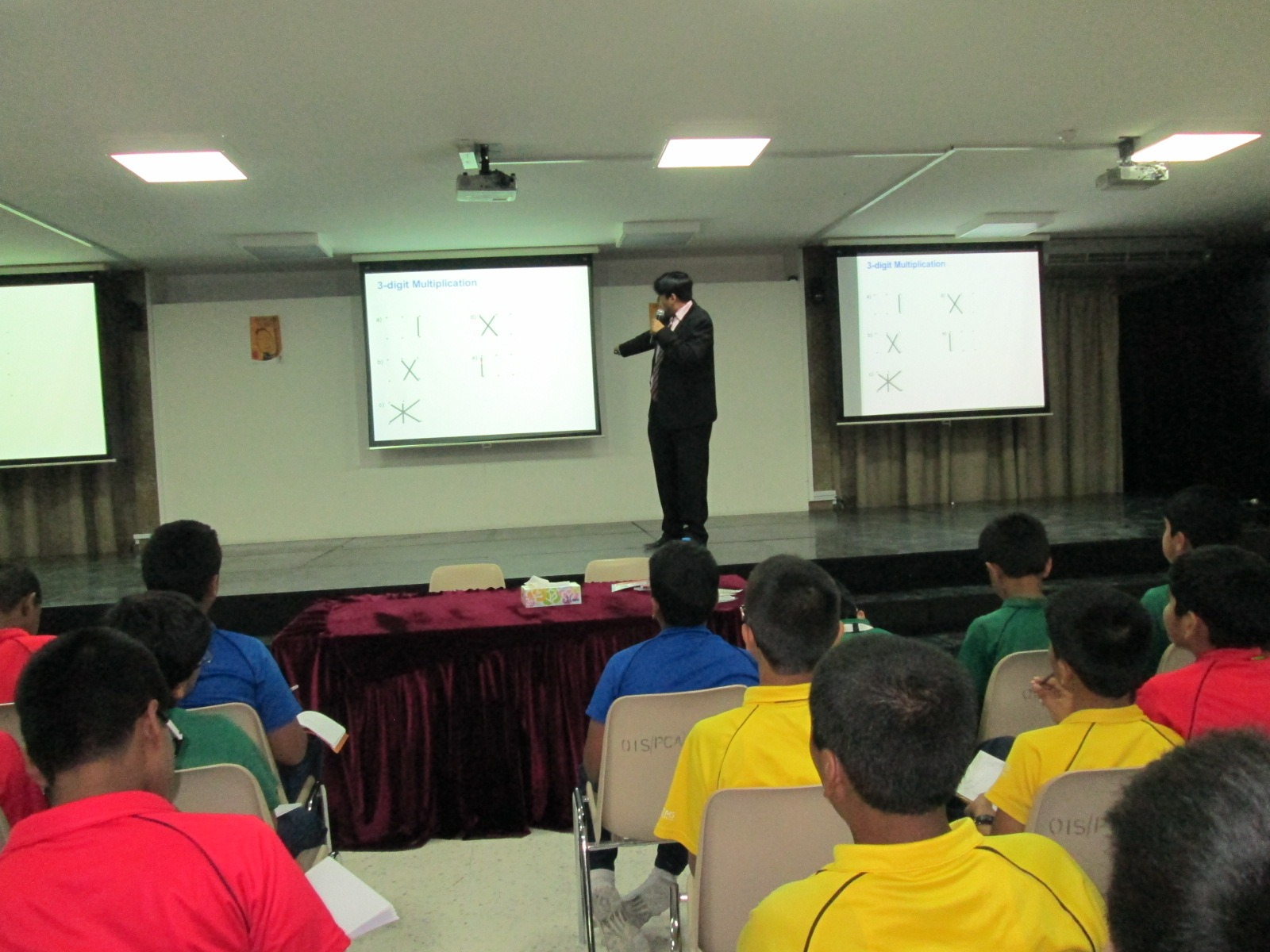 At a school in DUBAI
