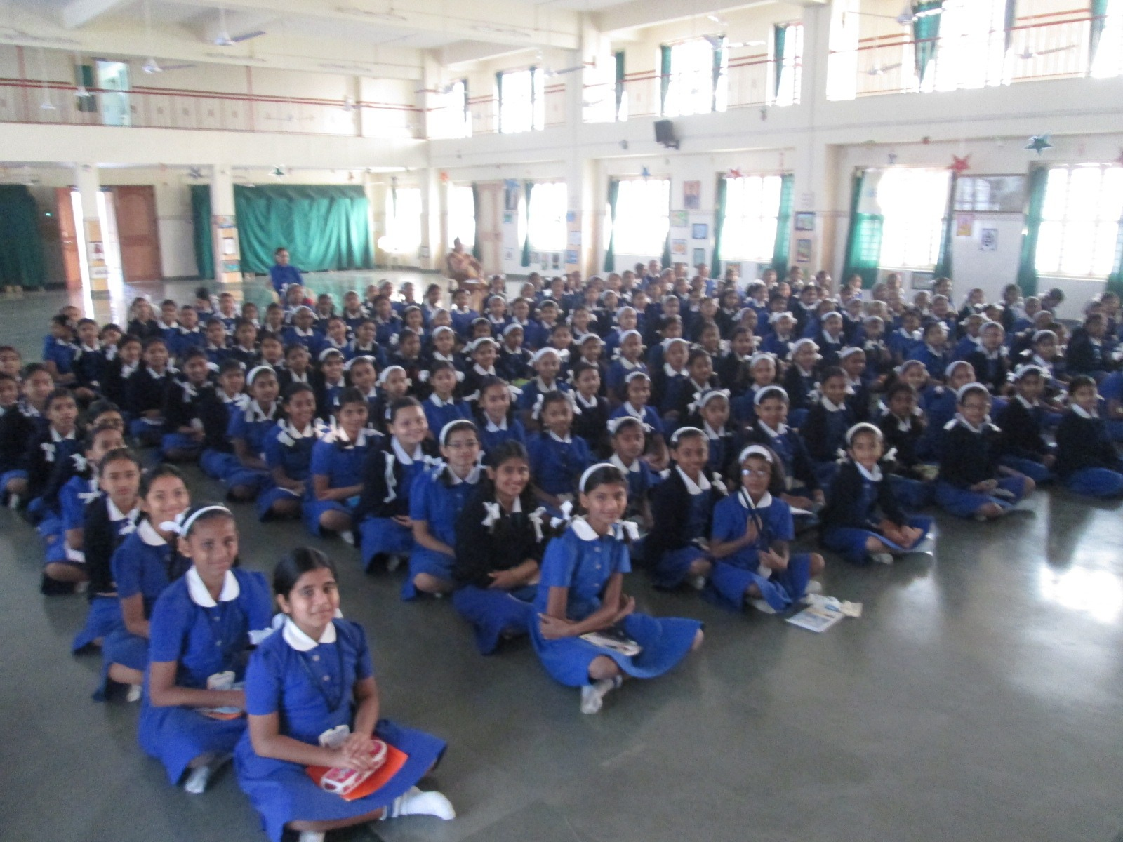 At a school in Vasai in India