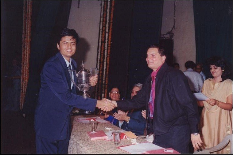 Awarded by renowned Music Director Lalit Pandit (Jatin-Lalit duo) for outstanding achievements
