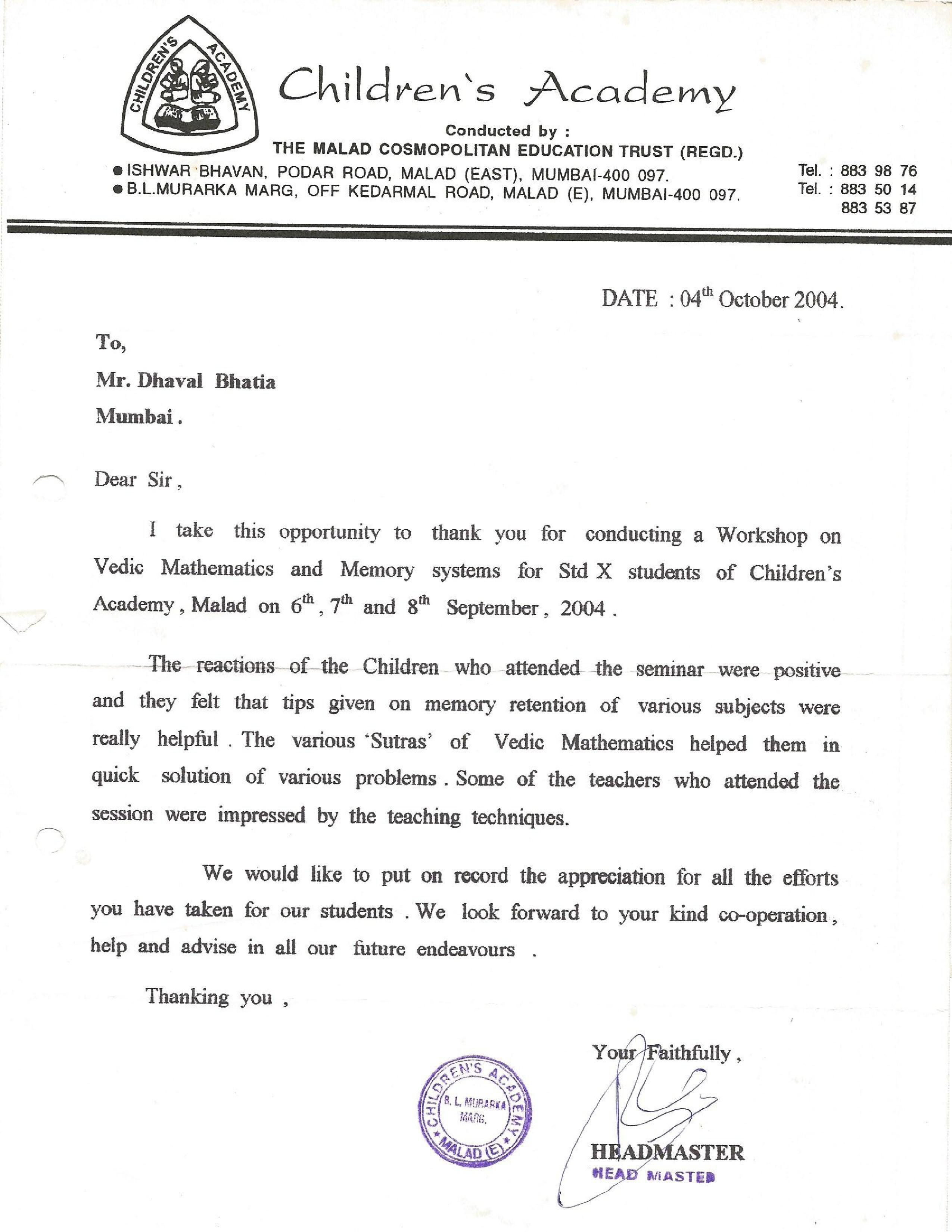 Childrens Academy Mumbai