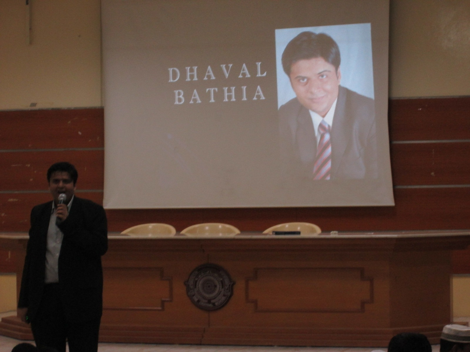 Dhaval at Central School