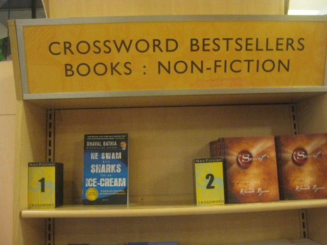 Dhaval's Book in #1 Bestseller List in Crossword, India's Leading Bookstore