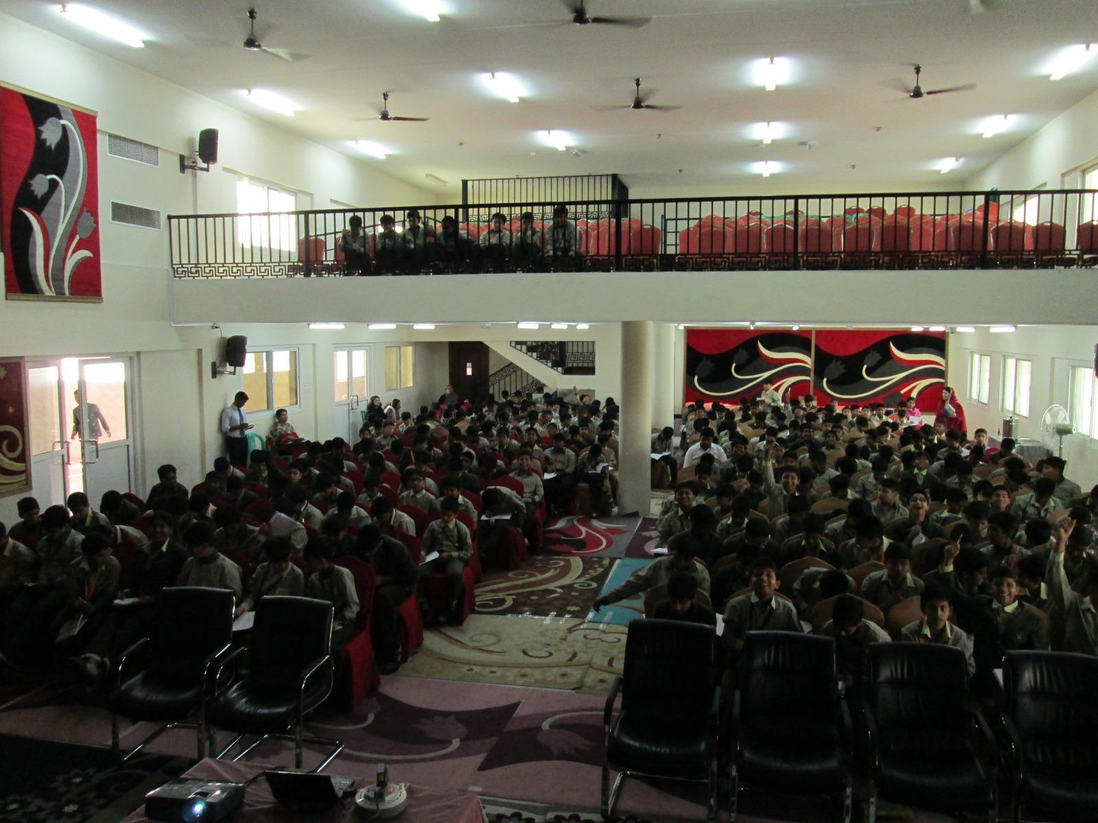 Two floor auditorium