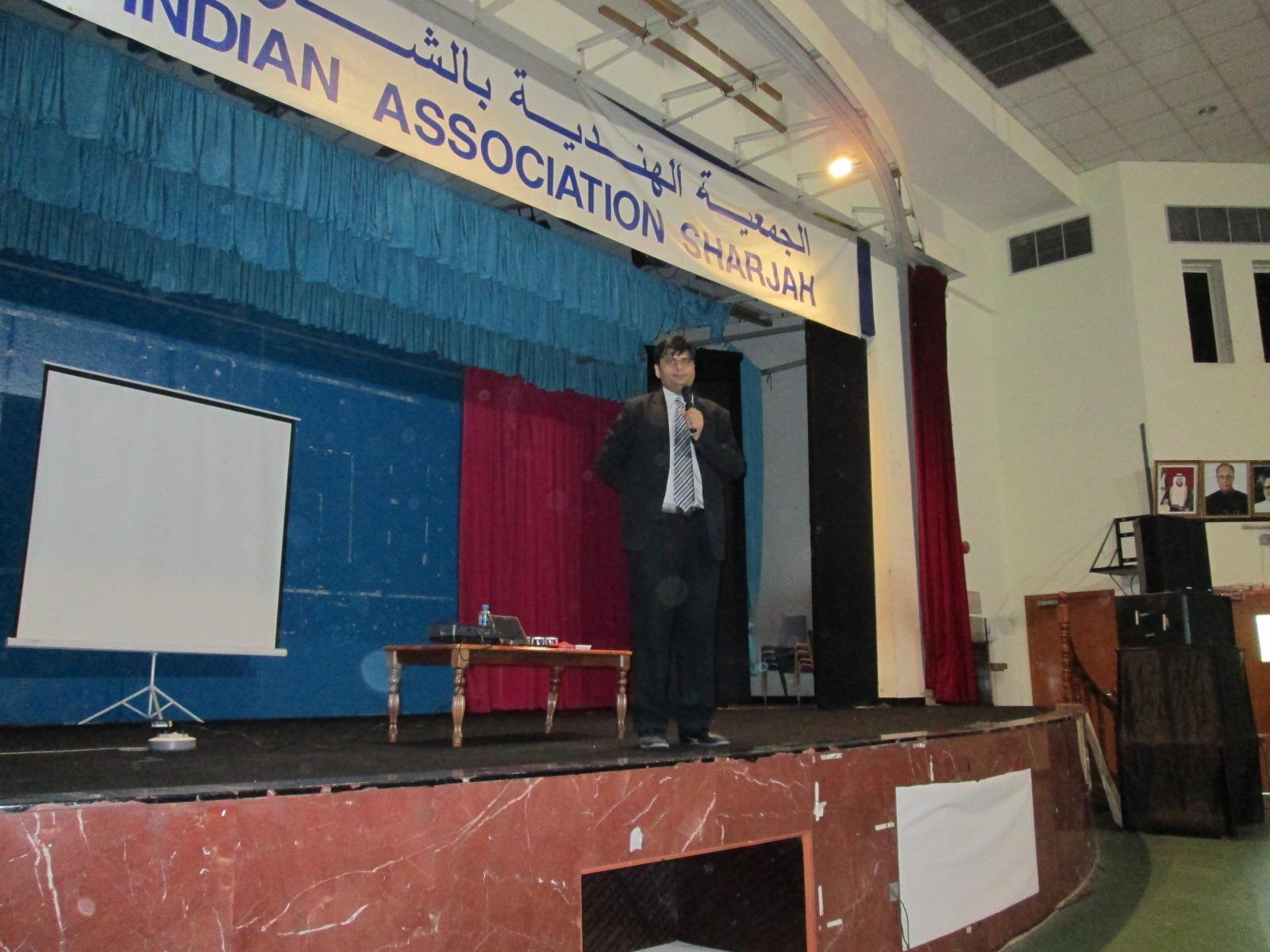 Indian Association Auditorium in UAE