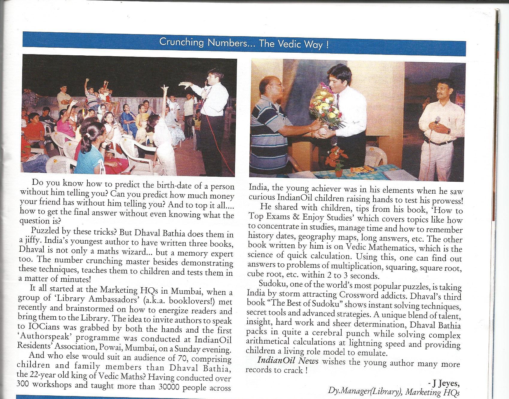 Indian Oil Magazine