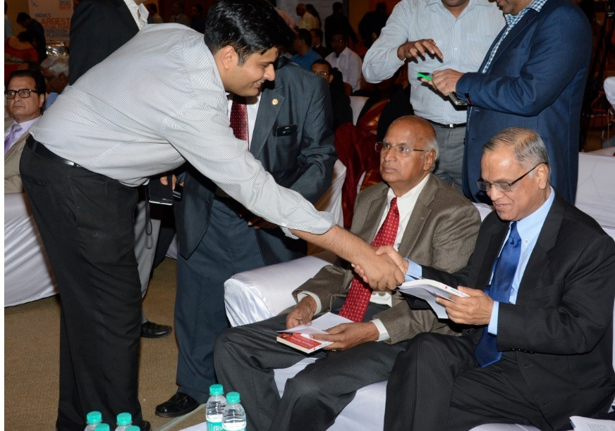 With Mr. Narayana Murthy and S. Ramadorai