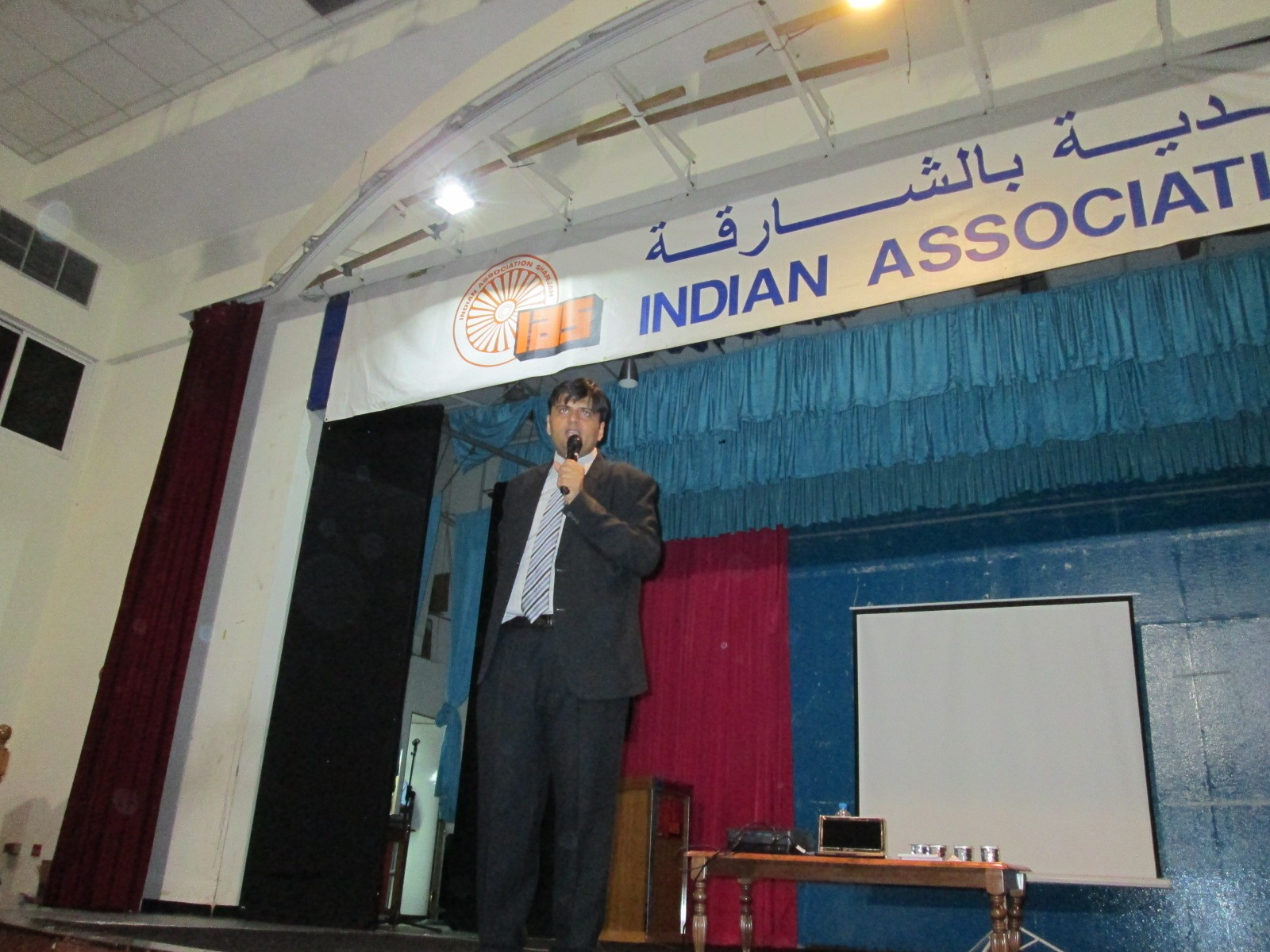 Invited by Indian Association