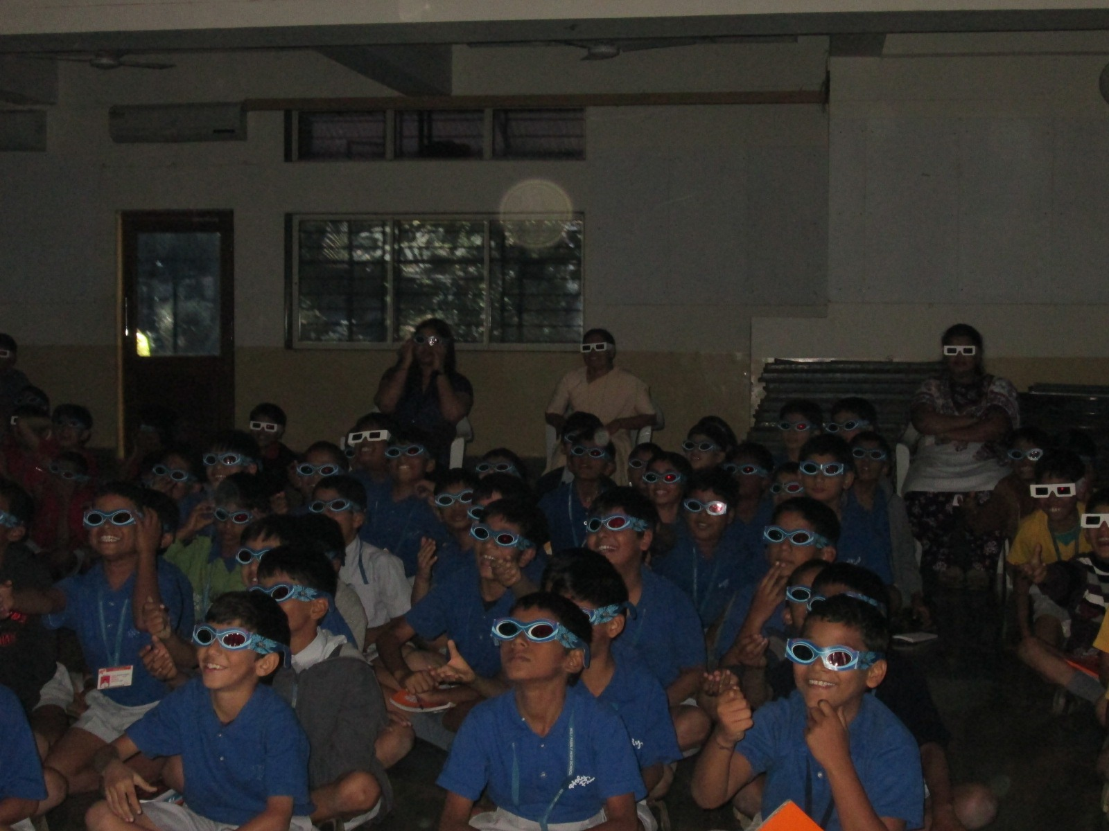 Students and Teachers enjoying 3D Learning Workshop