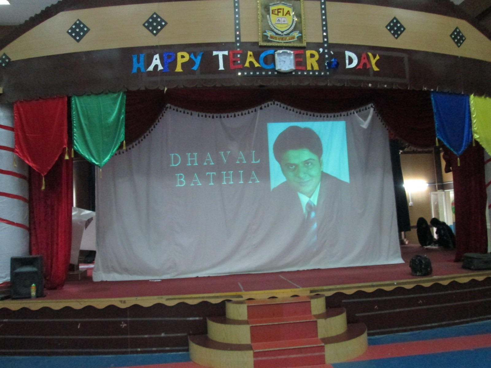 Students gave a surprise to Mr. Dhaval Bathia on Teacher's Day!