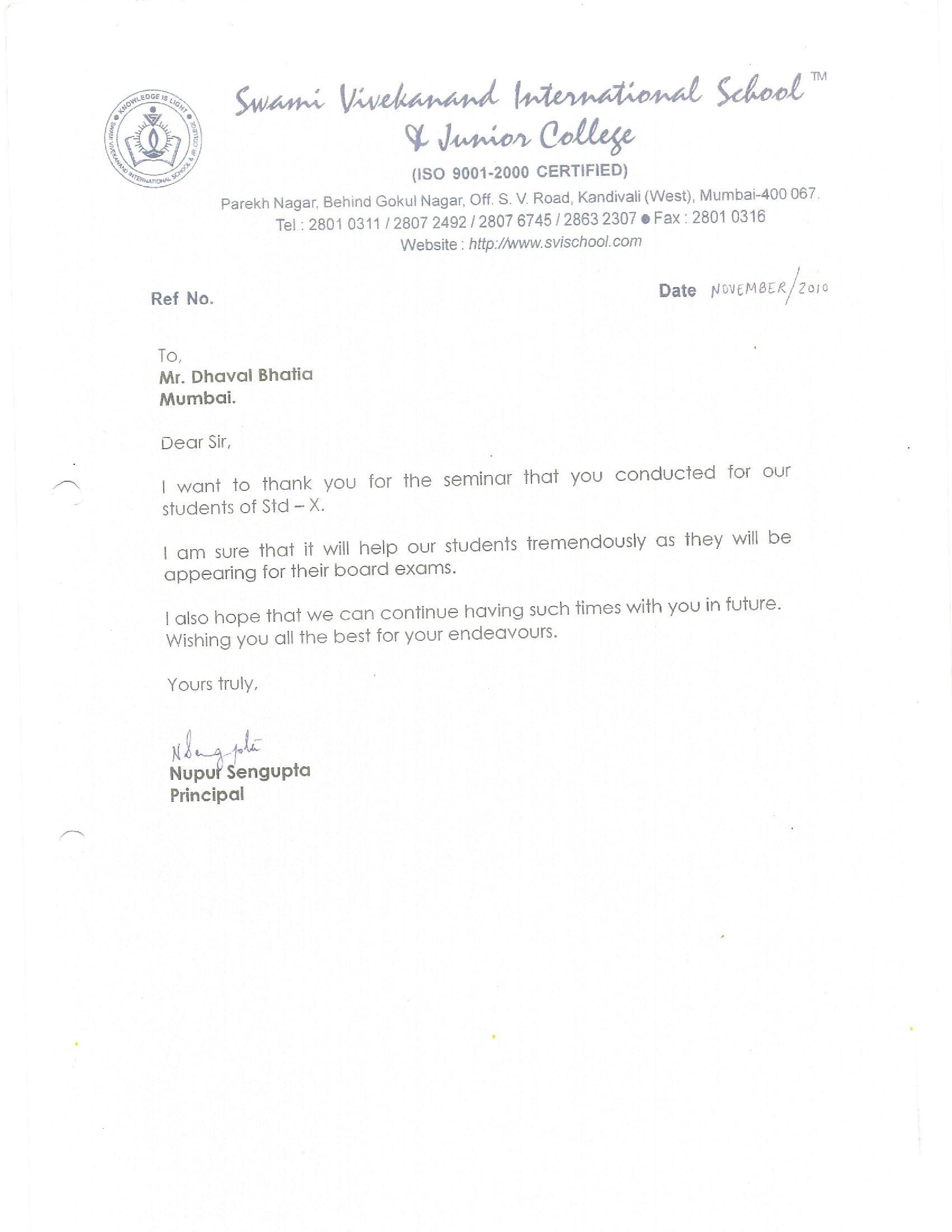 Swami Vivekanand School Mumbai