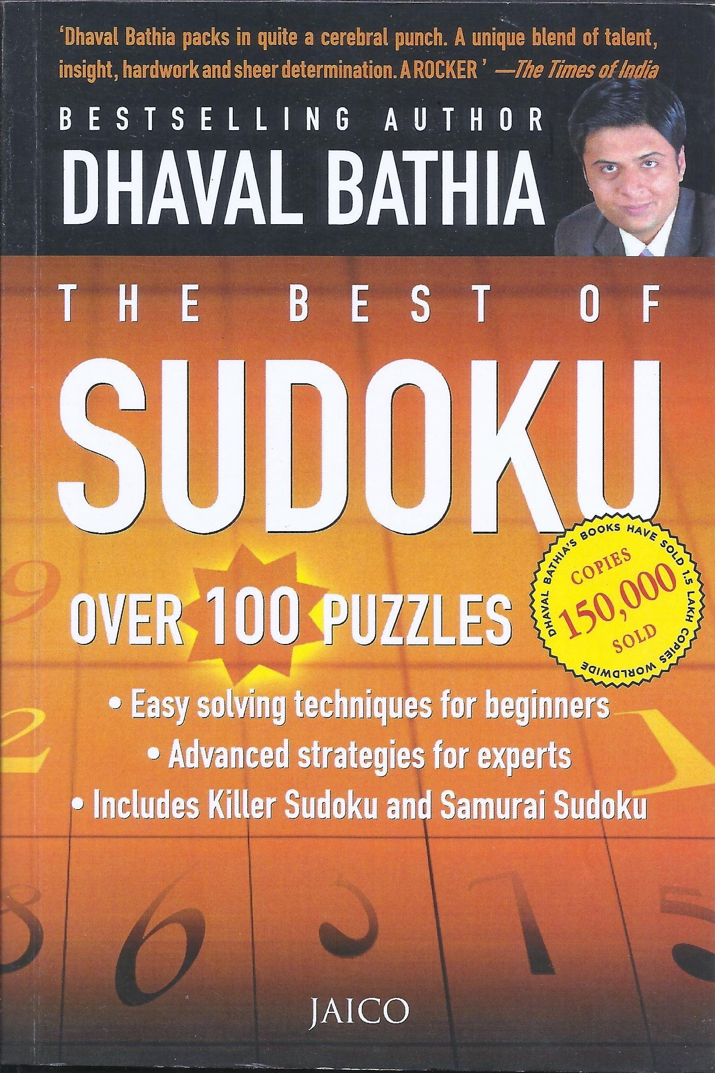 The Best Of Sudoku (Developing Analytical Skills)