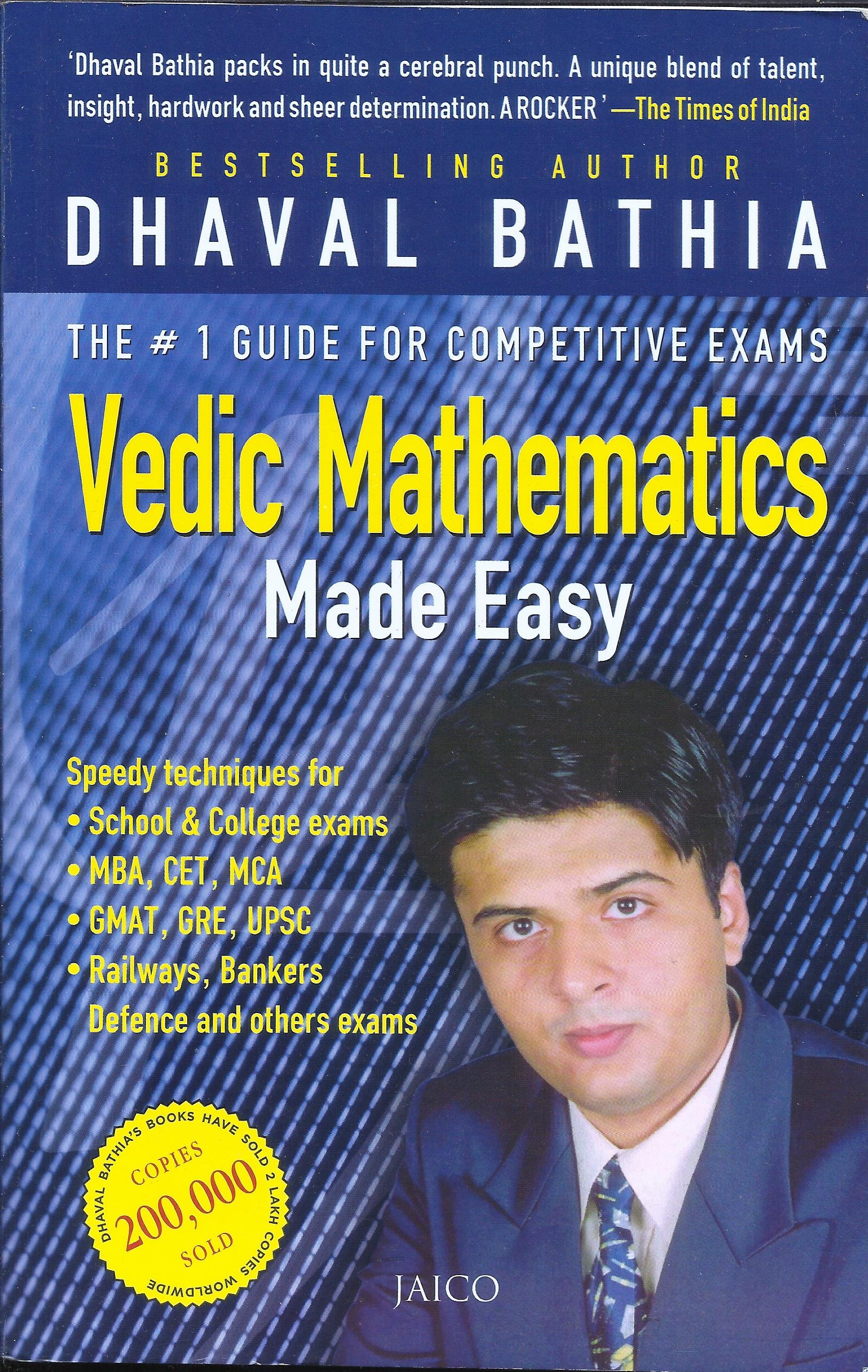 Vedic Mathematics Made Easy in English