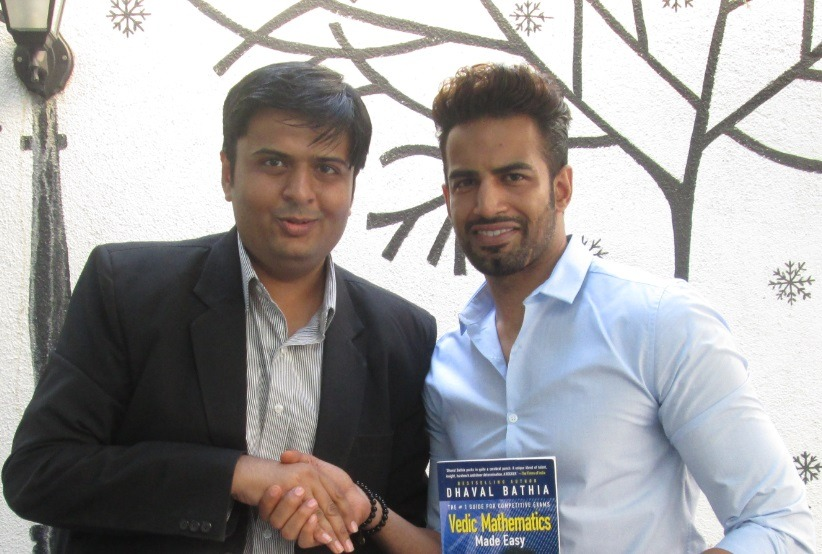 With Actor Upen Patel
