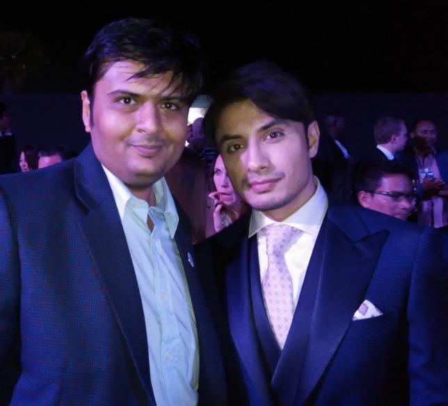 With Bollywood Singer Ali Zafar