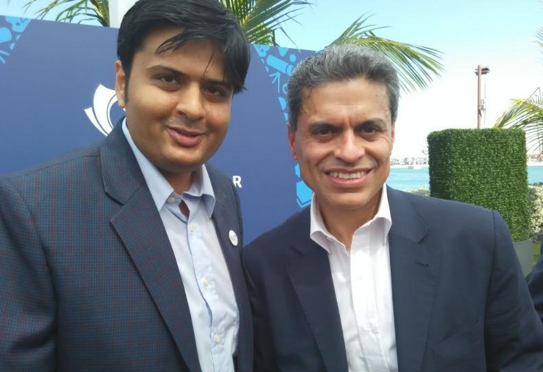 With Fareed Zakaria of CNN News, USA