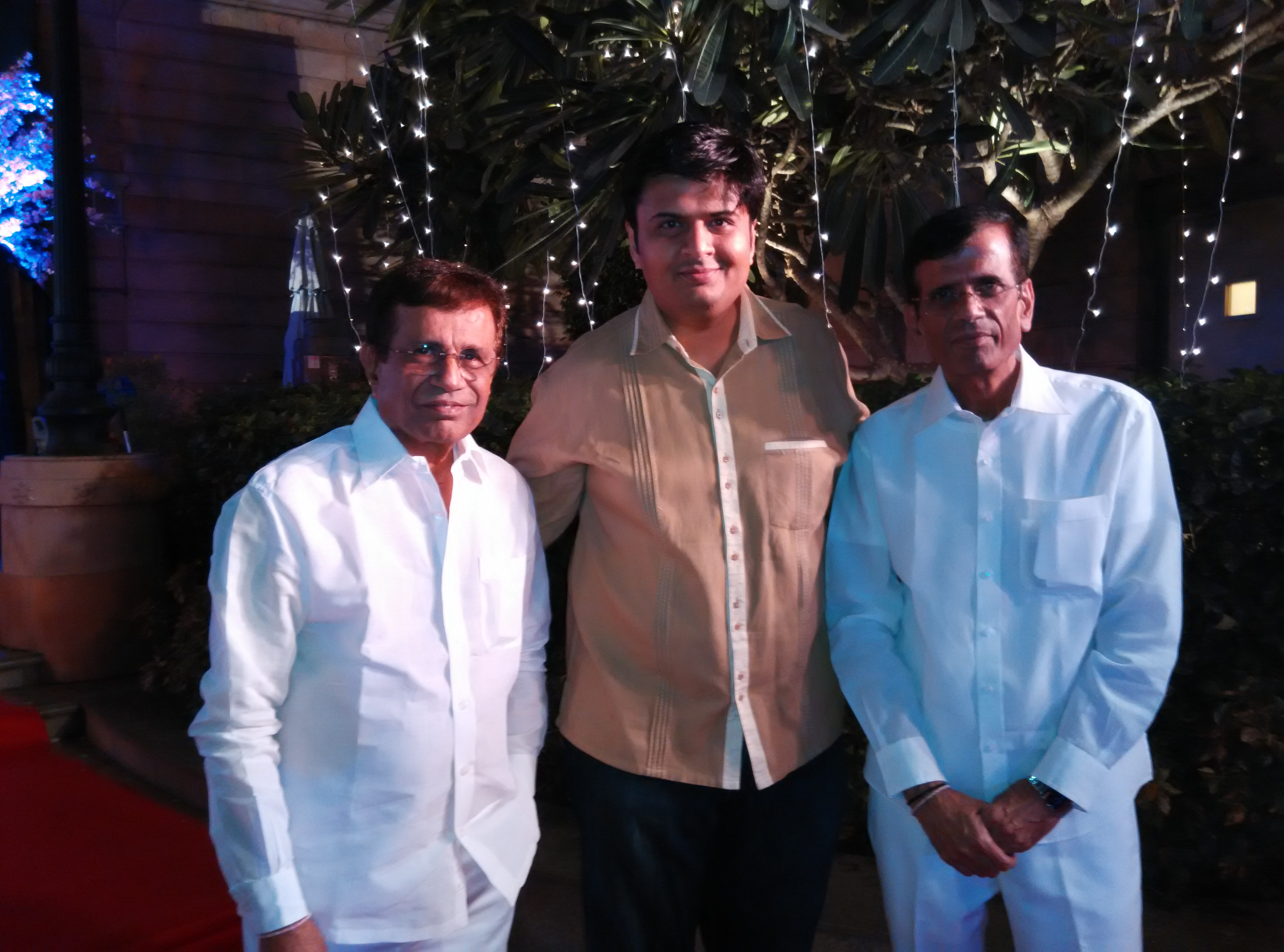 With Movie Directors Abbas and Mustan