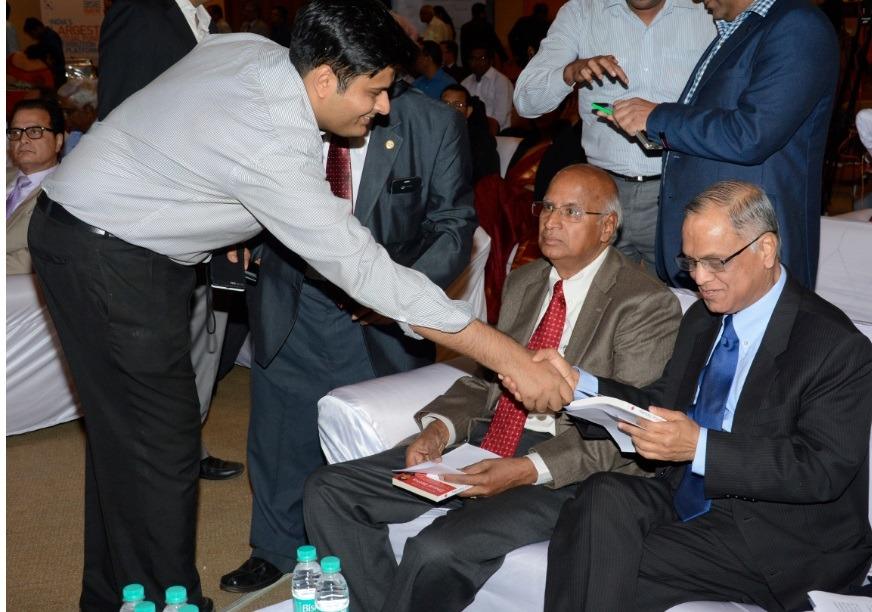 With Mr. Narayan Murthy and S. Ramadorai