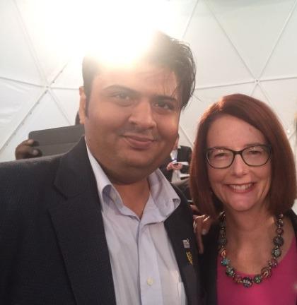 Prime Minister of Australia Ms. Julia Gillard